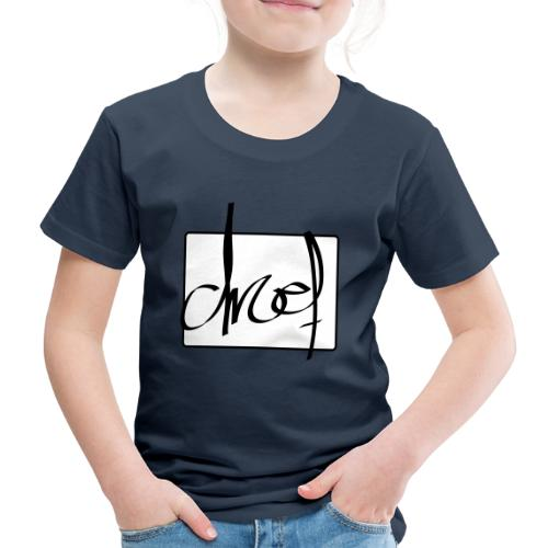 Droef.Gent logo zwart - Kinderen Premium T-shirt