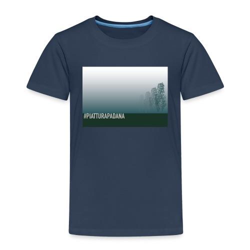 PIATTURAPADANA - Maglietta Premium per bambini