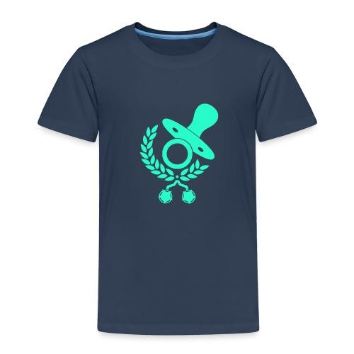 Baby Eltern Schwangere Schnuller Logo - Kinder Premium T-Shirt