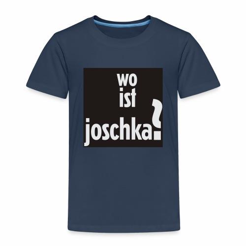 wo ist joschka? - Kinder Premium T-Shirt