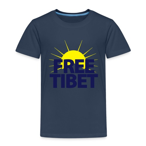 Free-Tibet Team Tibet - Kinder Premium T-Shirt