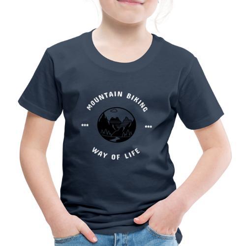 MTB WayOfLife - Kinder Premium T-Shirt
