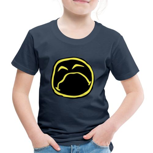 Droef Emoticon - Kinderen Premium T-shirt