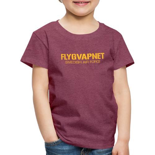 FLYGVAPNET - SWEDISH AIR FORCE - Premium-T-shirt barn