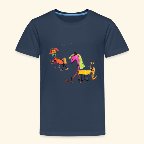 pony - Kinder Premium T-Shirt