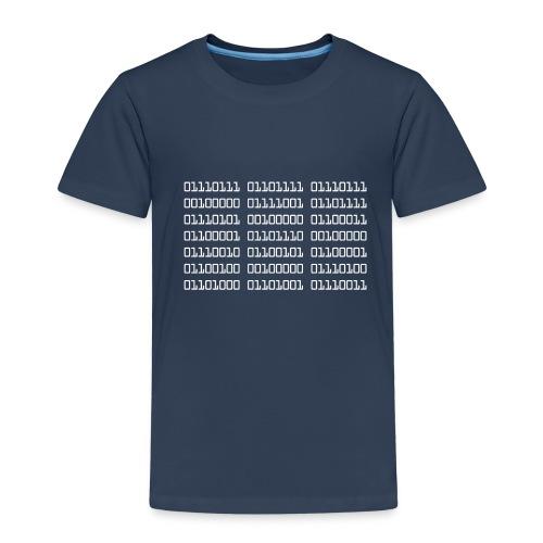 Wow Binary - Kids' Premium T-Shirt
