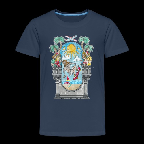 Lord of the Board - Kinder Premium T-Shirt