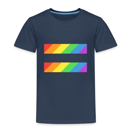 LGBTQ Equality Pride Logo - Kids' Premium T-Shirt