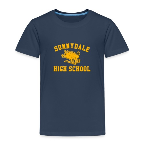 Sunnydale High School logo merch - Kids' Premium T-Shirt