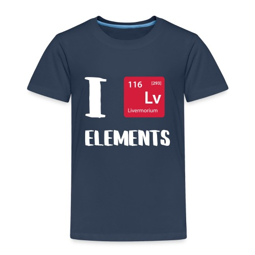 I love Elements - Kinder Premium T-Shirt