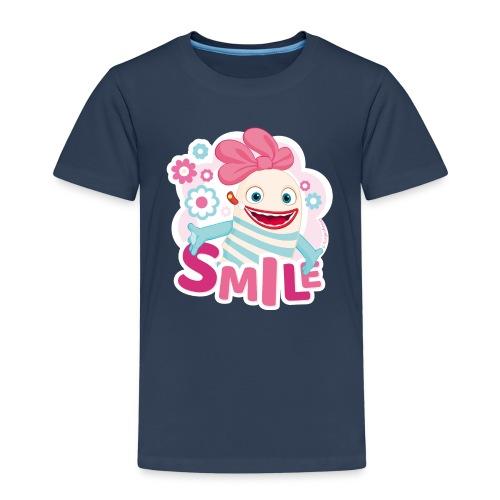 Sorgenfresser Lilli Smile Blümchen - Kinder Premium T-Shirt