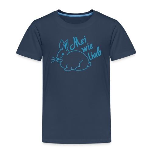 Wie liab, Hase, Ostern - Kinder Premium T-Shirt