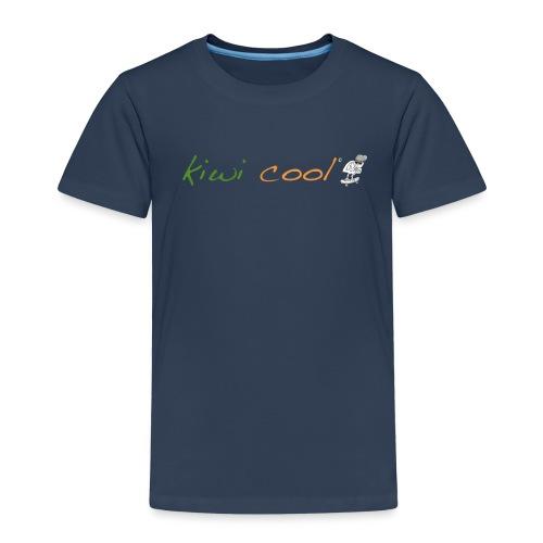 kiwi cool und schrift freigestellt png - Kinder Premium T-Shirt