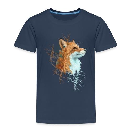 Happy the Fox - Kinder Premium T-Shirt