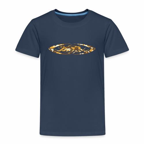 2wear original logo cammo orange - Børne premium T-shirt