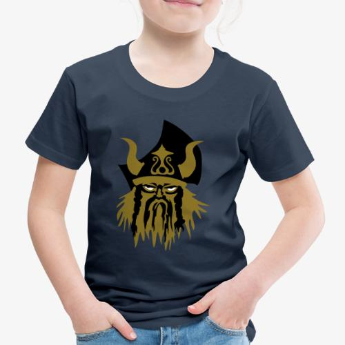Viking warriror by Patjila - Kids' Premium T-Shirt