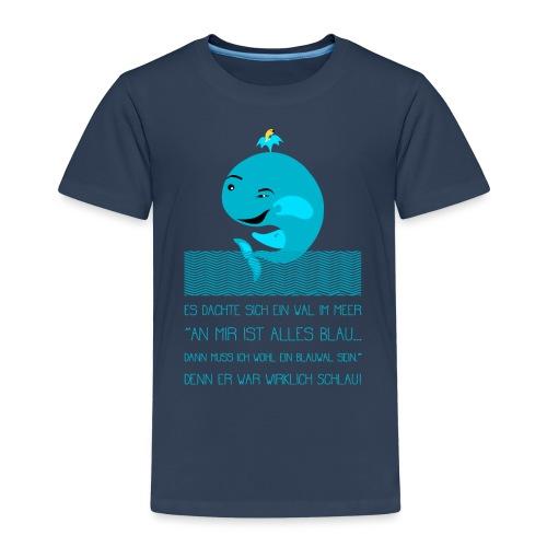 Blauwal - Kinder Premium T-Shirt