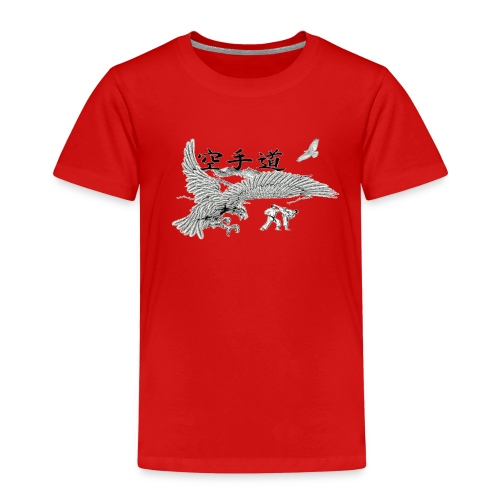 design karateaigle3 gif - T-shirt Premium Enfant
