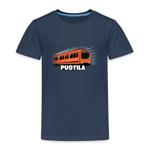 03-PUOTILAN METRO - Tekstiilit ja lahjat - Lasten premium t-paita