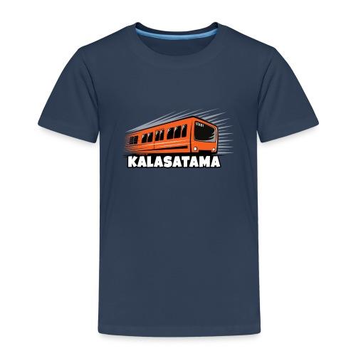 11- METRO KALASATAMA - HELSINKI - LAHJATUOTTEET - Lasten premium t-paita