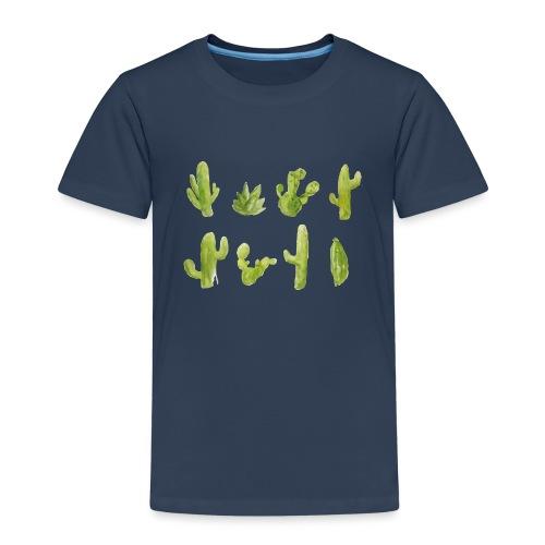 Cactus Design aquarelle - T-shirt Premium Enfant