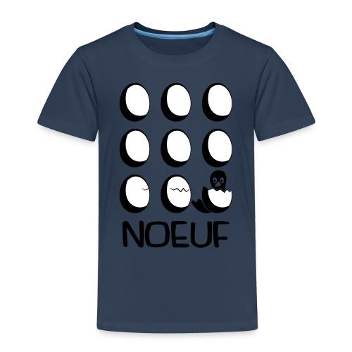 Noeuf poussin N B - T-shirt Premium Enfant