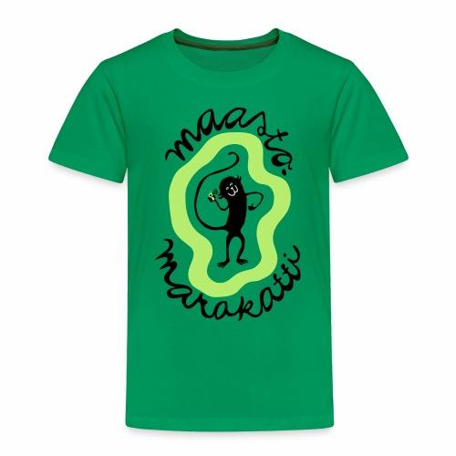 Maastomarakatti - Lasten premium t-paita