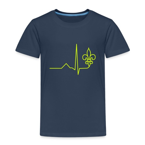 Scouts Heartbeat - Kids' Premium T-Shirt