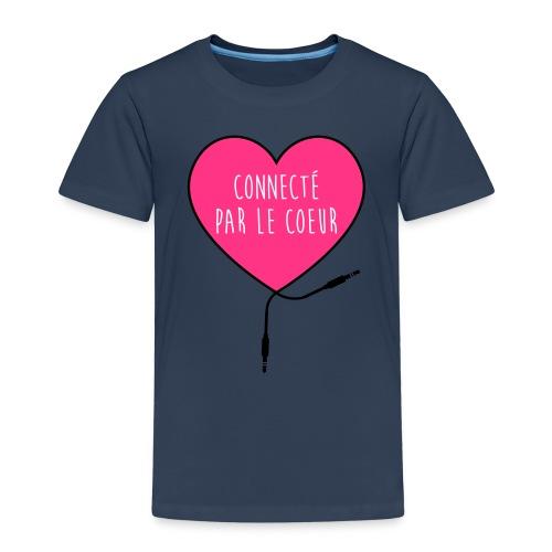 connecté par le coeur - T-shirt Premium Enfant