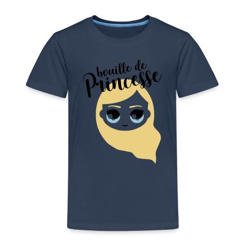 Bouille de princesse (couleurs personnalisables) - T-shirt Premium Enfant