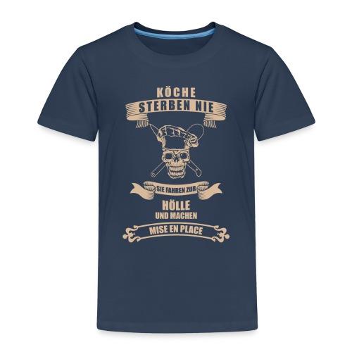 köche_shirt@0,5x_1 - Kinder Premium T-Shirt