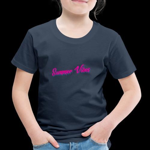 Summer Vibes - Kinder Premium T-Shirt