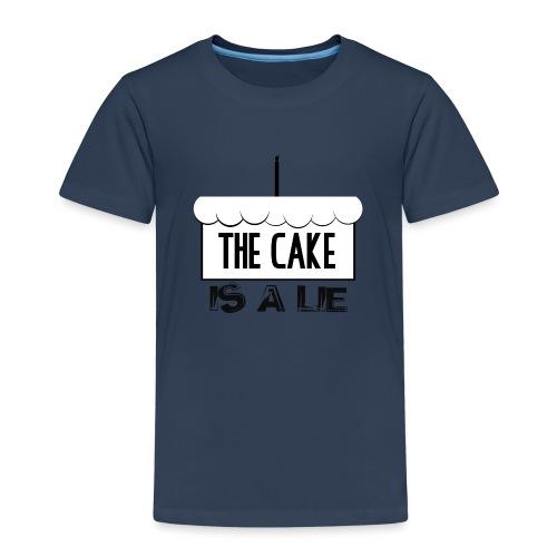 Der Kuchen ist eine Lüge - Kinder Premium T-Shirt