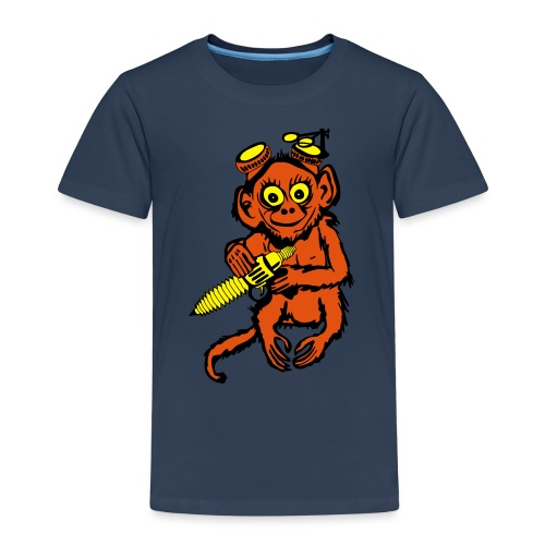 Steampunk Monkey - Kids' Premium T-Shirt