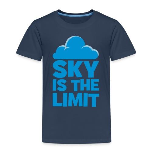 sky is the limit - T-shirt Premium Enfant