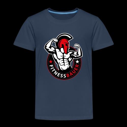 FitnessBauer in Rot - Kinder Premium T-Shirt