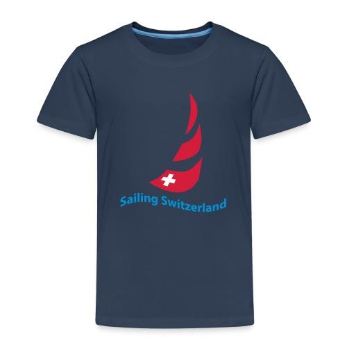 logo sailing switzerland - Kinder Premium T-Shirt