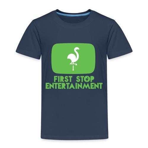 Box Logo png - Premium T-skjorte for barn