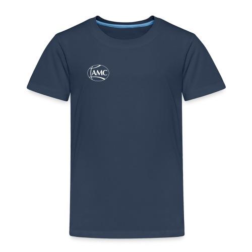 AMC Brand negativ Vektor - Kinder Premium T-Shirt
