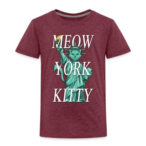 Meow York Kitty - Kids' Premium T-Shirt
