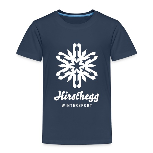 hirschegg eiskristall - Kinder Premium T-Shirt