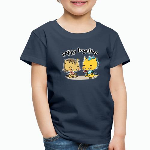 Happy Together - Pferd und Drache - Kinder Premium T-Shirt