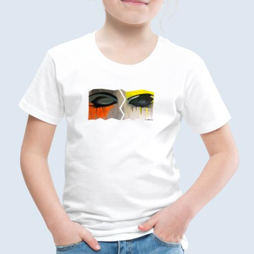 """Augenblick """"closed eyes"""" made in Berlin - Kinder Premium T-Shirt"""