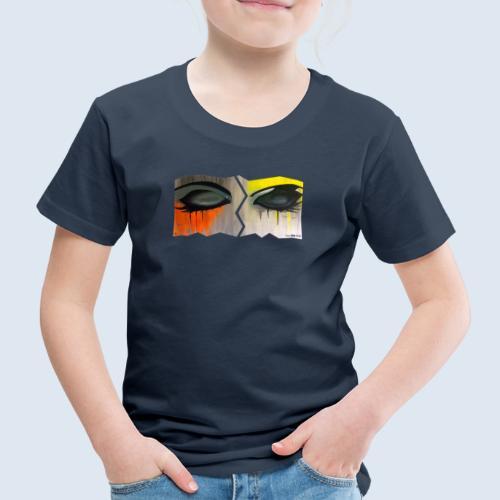 Closed Eyes Berlin PopArt ickeshop BachBilder - Kinder Premium T-Shirt