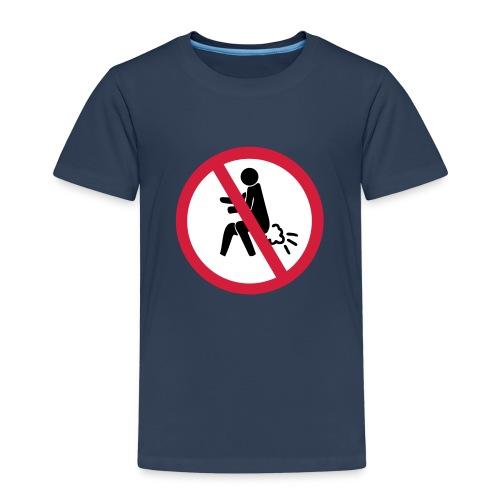 NO Farting Sign - Kids' Premium T-Shirt