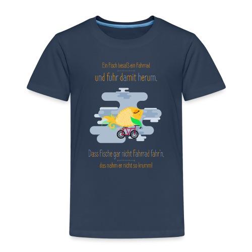 Der Fahrrad-Fisch - Kinder Premium T-Shirt