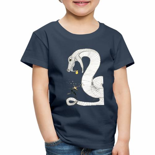 Poison - Combat contre un serpent venimeux géant - T-shirt Premium Enfant