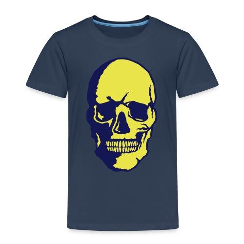tete de mort crane halloween fantaisie 2 - T-shirt Premium Enfant