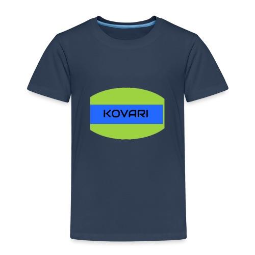 Kovari Logo - Lasten premium t-paita