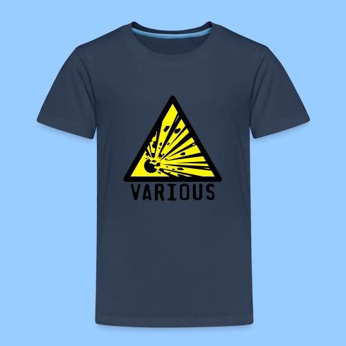 VariousExplosions Triangle (2 colour) - Kids' Premium T-Shirt